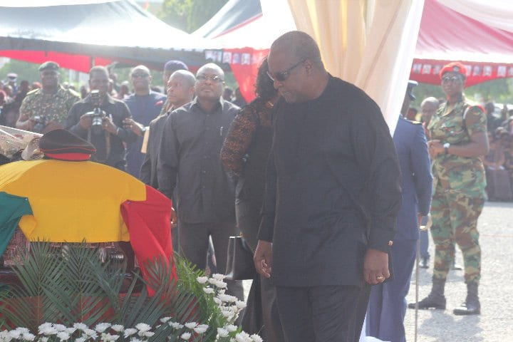 MORE LIVE PICTURES: Major Maxwell Adam Mahama's Funeral