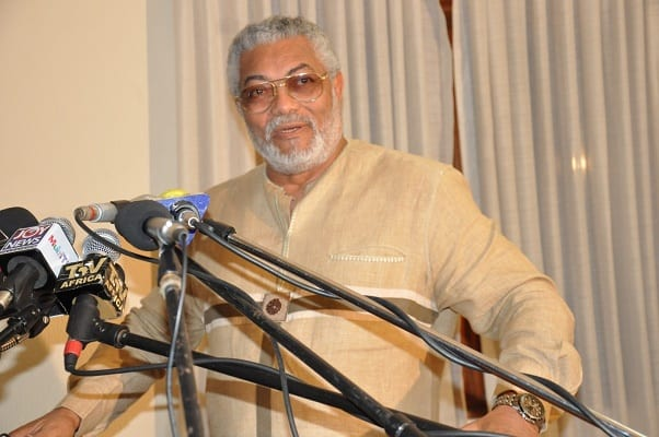 Valerie Sawyerr and corrupt cronies in NDC will soon leave-Rawlings