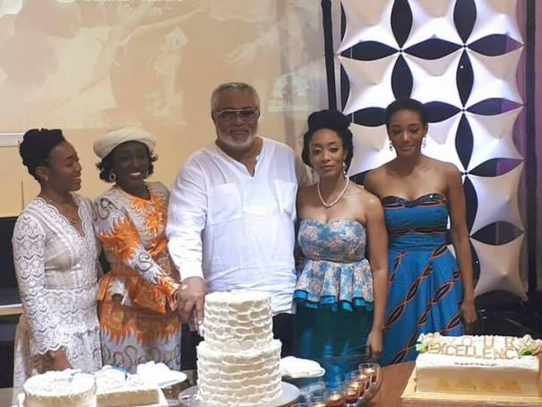 Photos: How Rawlings Celebrated his 70th Birthday
