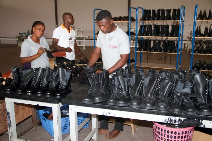 Kumasi shoe factory collapsing for inferior products-Deputy Minister