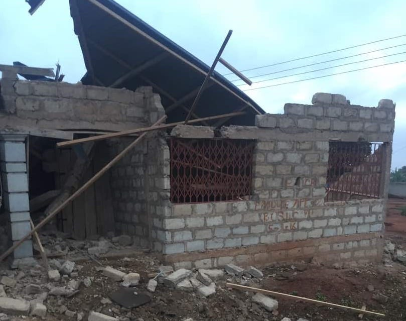 Storey-building of NDC MP demolished