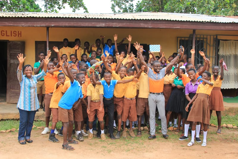 Ghanaian pupils inspired to fight climate change