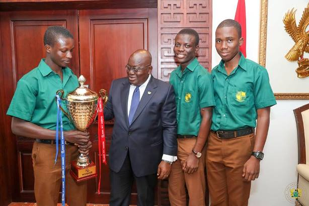 NSMQ17: When the boy Wonder met Akufo-Addo