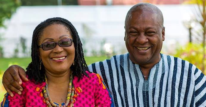 John Mahama details how he met Lordina Mahama