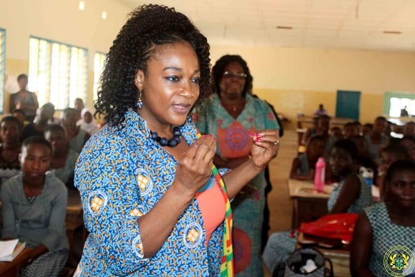 Take advantage of free SHS-Gender Minister to young girls