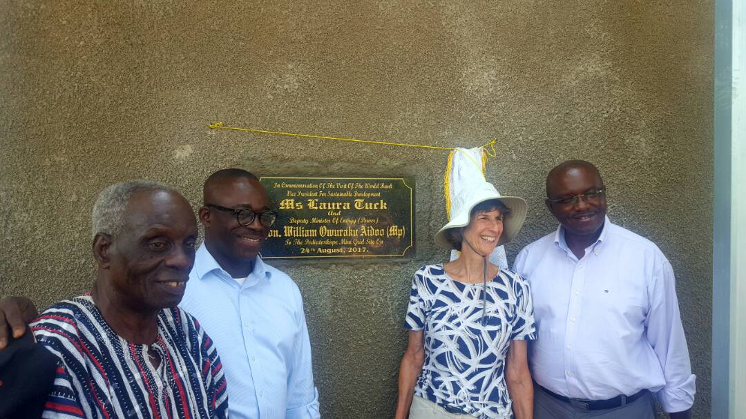 Gov't to construct mini grid systems in 55 Island and lakeside communities –Minister Reveals
