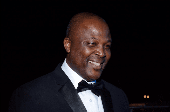 Photos: Ibrahim Mahama dazzles in suit