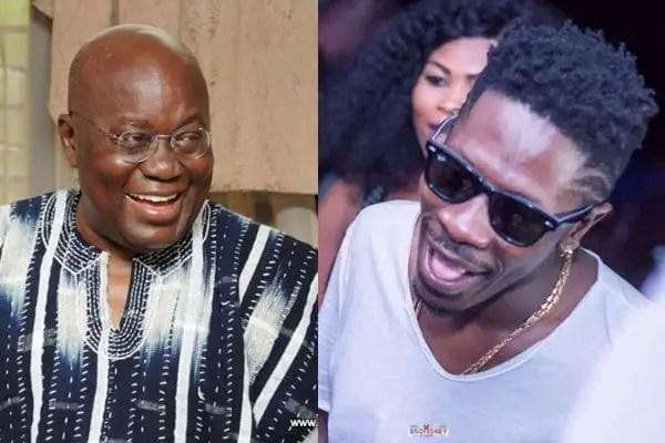 Akufo-Addo's pidgin birthday wish to Shatta Wale topical issue on BBC
