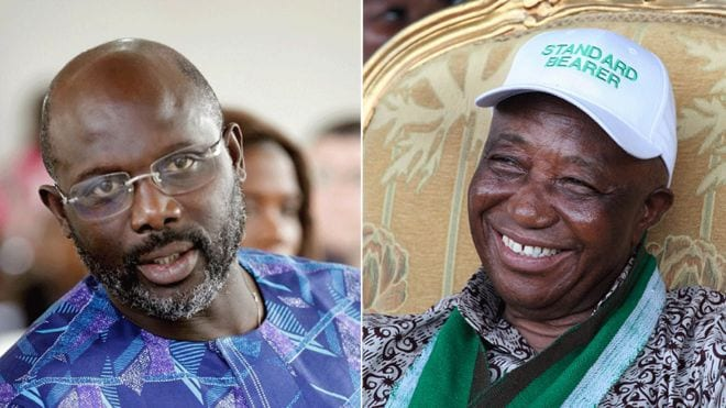 Liberia election: Weah and Boakai headed for presidential run-off