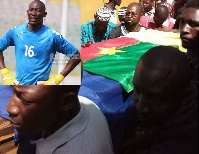 PHOTOS:Former Kotoko and Hearts of Oak goalie buried today