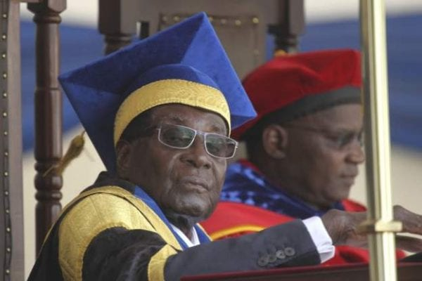 Mugabe Pops Up In Public After Military Takeover