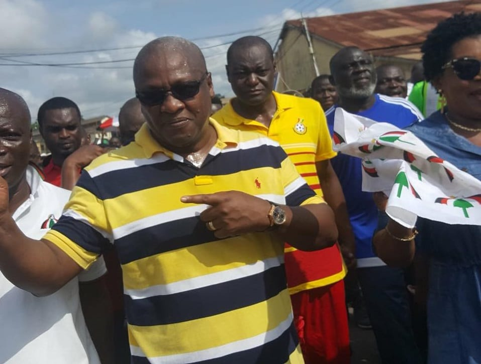 Mahama declares intention to lead NDC in 2020
