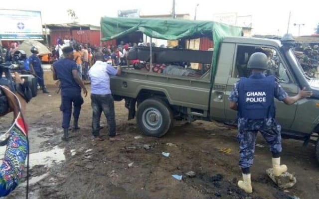 Kumasi commercial drivers clash with private developer