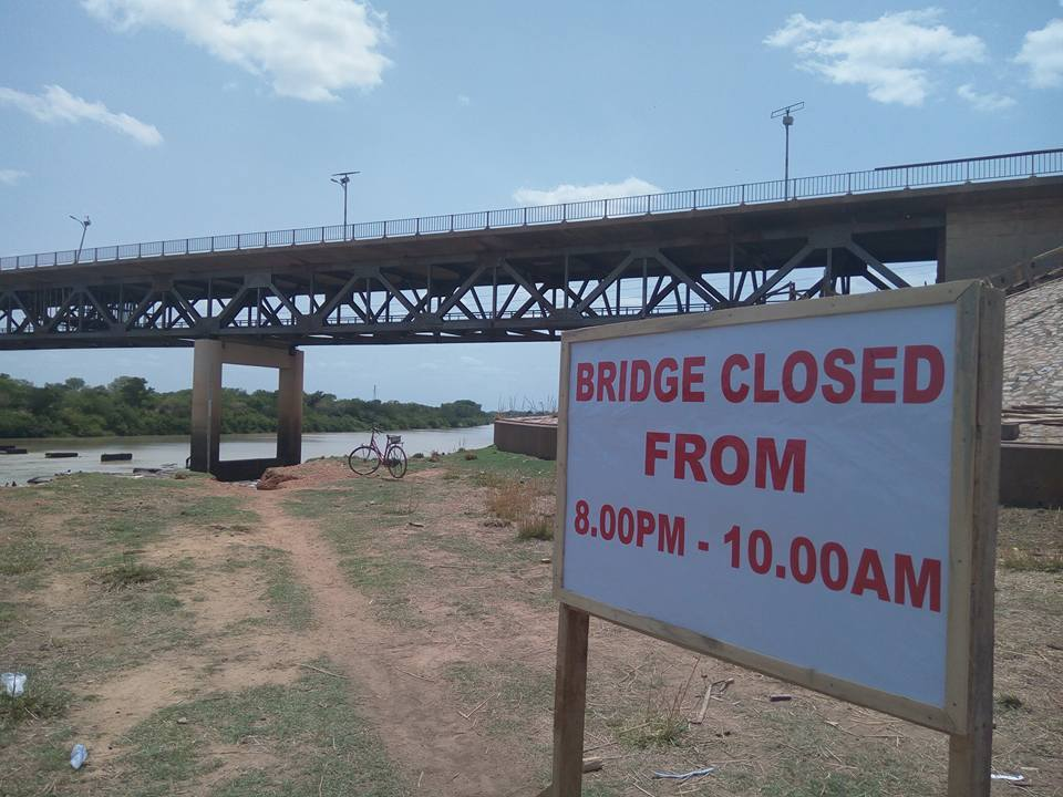 Buipe and Yapei bridges open to traffic on Friday