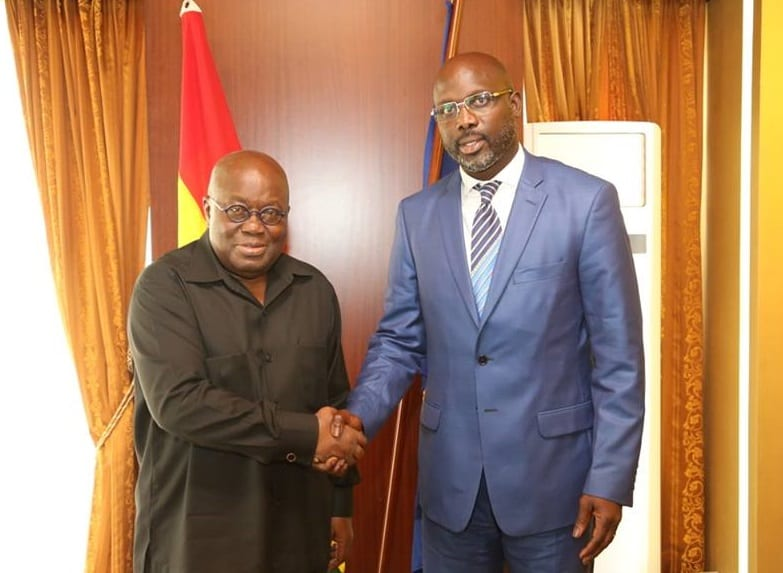 Weah's victory must improve living standards of Liberians- Akufo-Addo