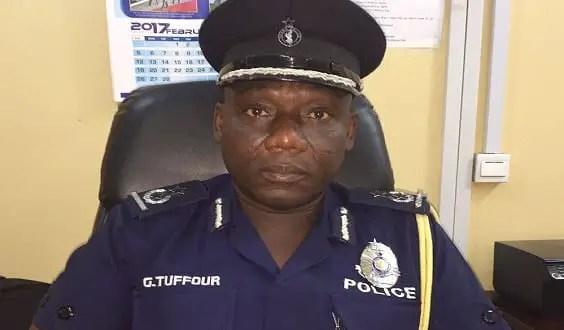 I'm the chief land guard-Tema Regional Police Commander