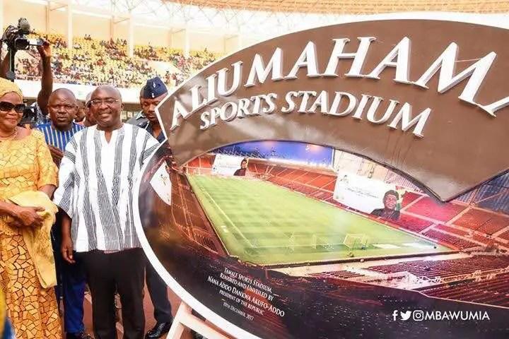 Late Alhaji Aliu Mahama was a national hero and sports Icon –Bawumia