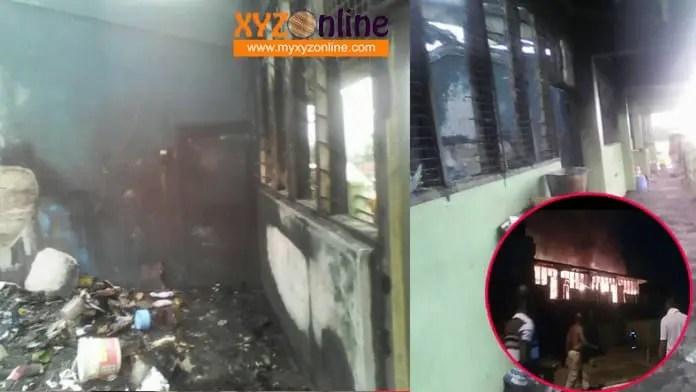 Fires razes down boys dormitory at Konongo Odumase SHS