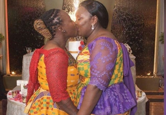 PHOTOS:Ghanaian lesbians marry in Holland sparking public outrage