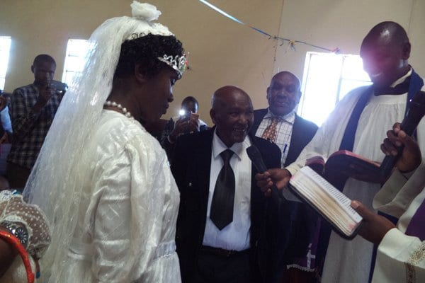 Man 95 Weds Wife, Fulfilling 40-Year Old Promise