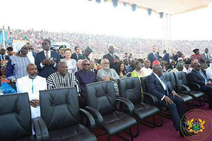 Why Akufo-Addo was surrounded by empty seats at Weah's investiture