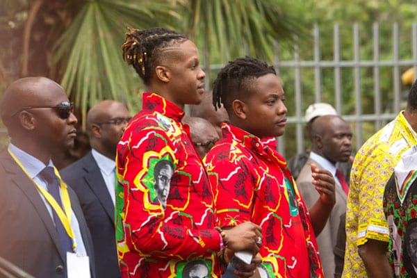 Mugabe's Sons Face Arrest And Corruption Charges