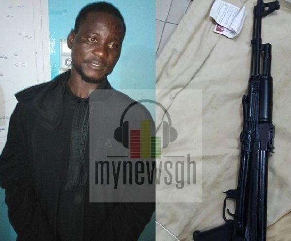 Notorious armed robber arrested for 'renting' weapons to his colleagues