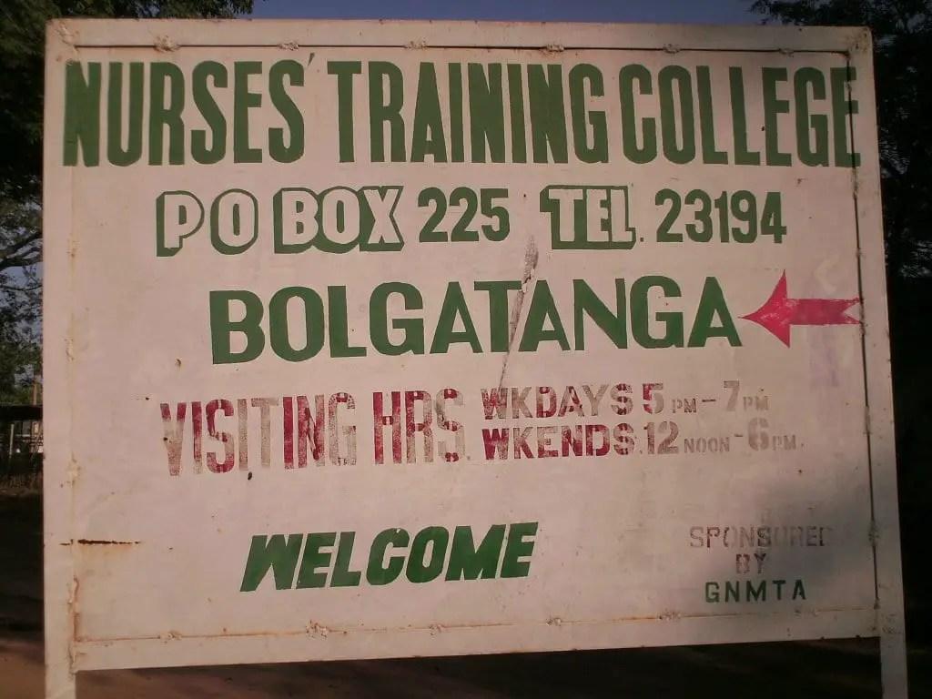 Bolgatanga nursing training college to be closed down