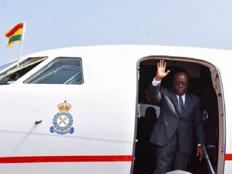 Akufo-Addo jets off to Togo, USA and Germany on a 10- day official tour