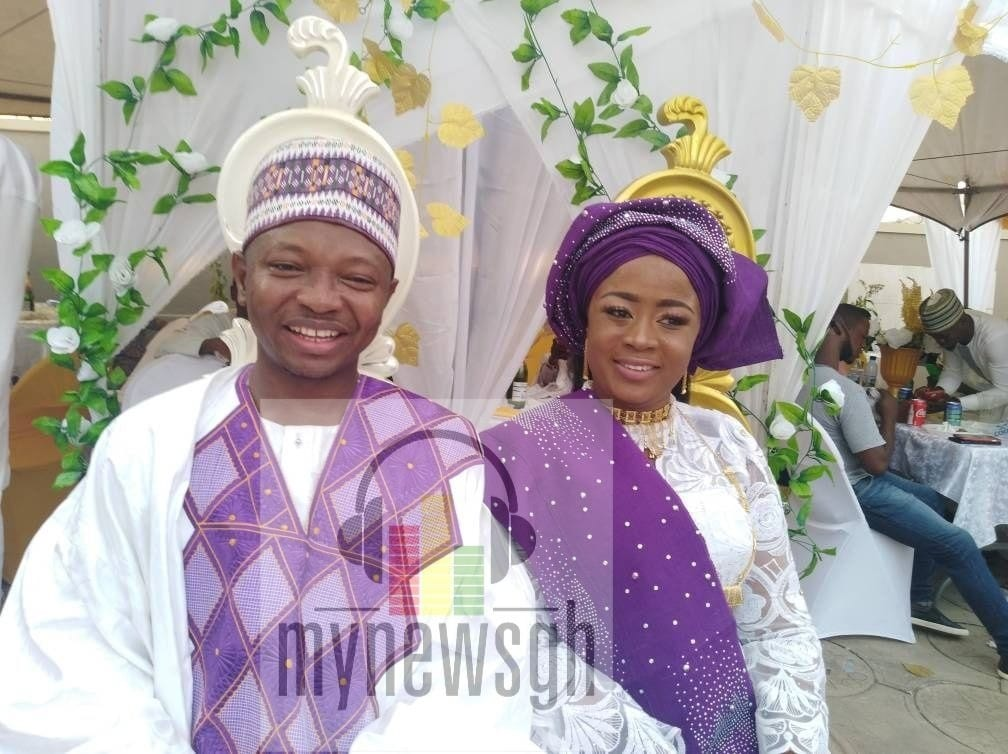 PICTURES: Ras Mubarak grabs Muntaka's daughter as second wife in Kumasi