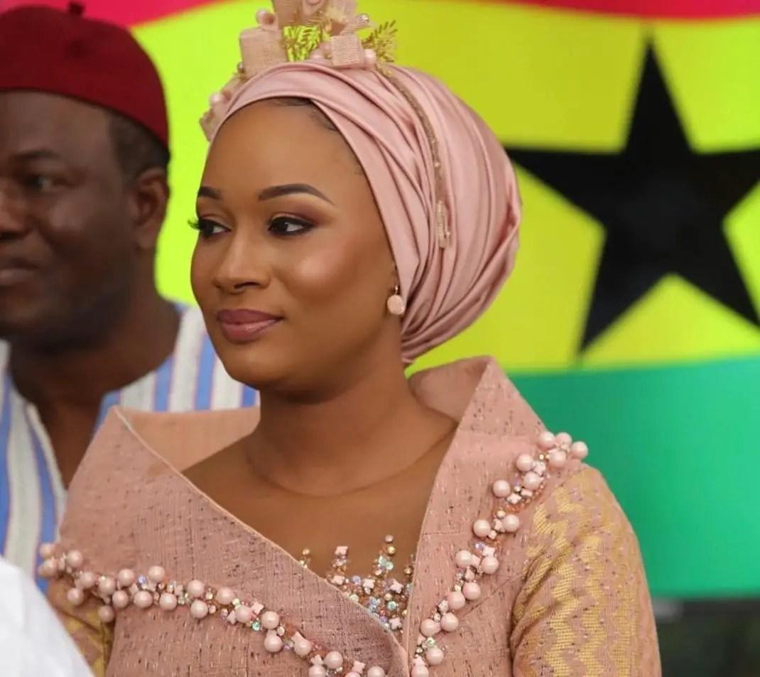 PHOTOS: Samira Bawumia glitters at Ghana @ 61 Celebrations