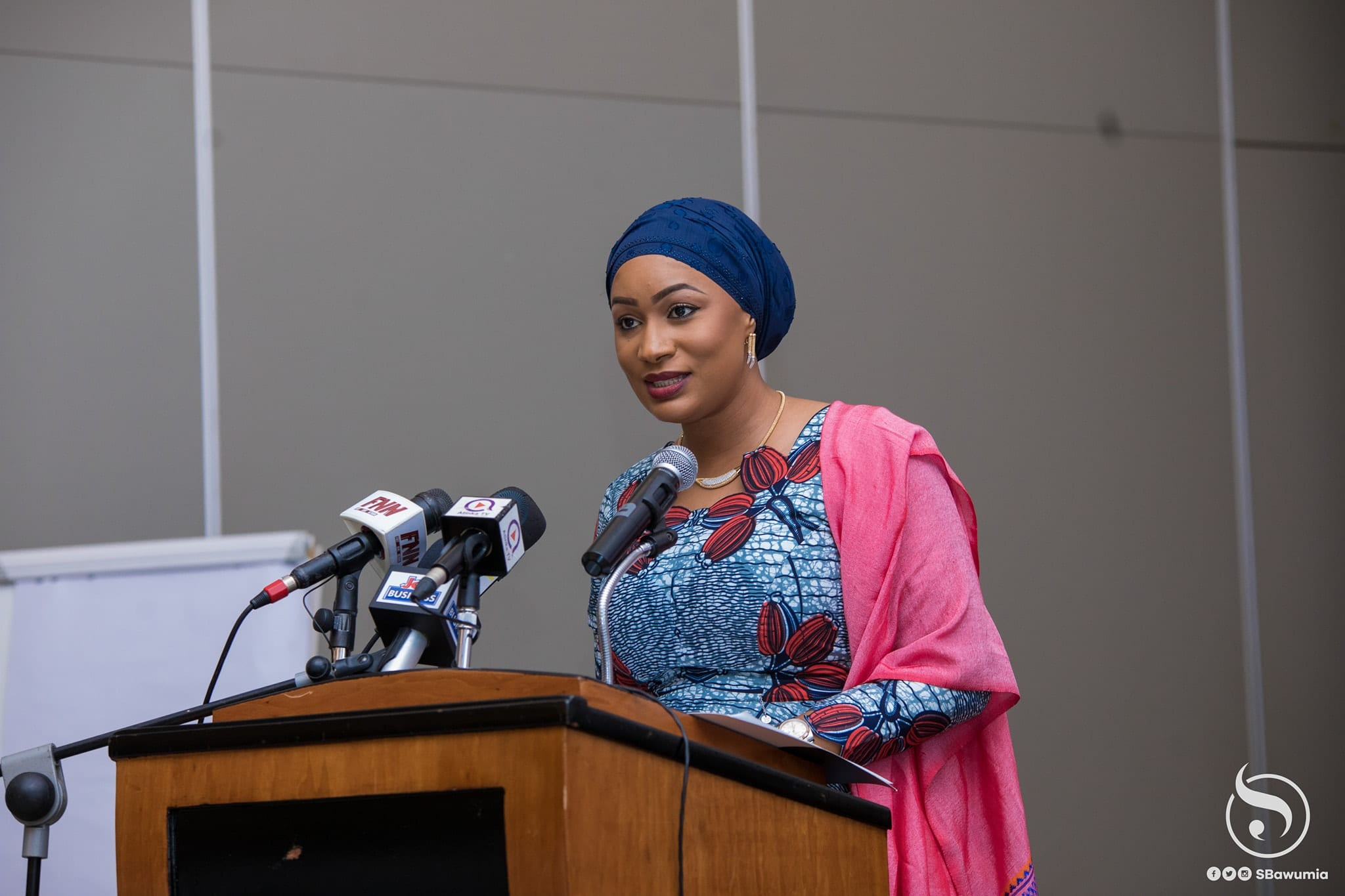 Cultivate the habit of reading-Samira Bawumia urges the youth
