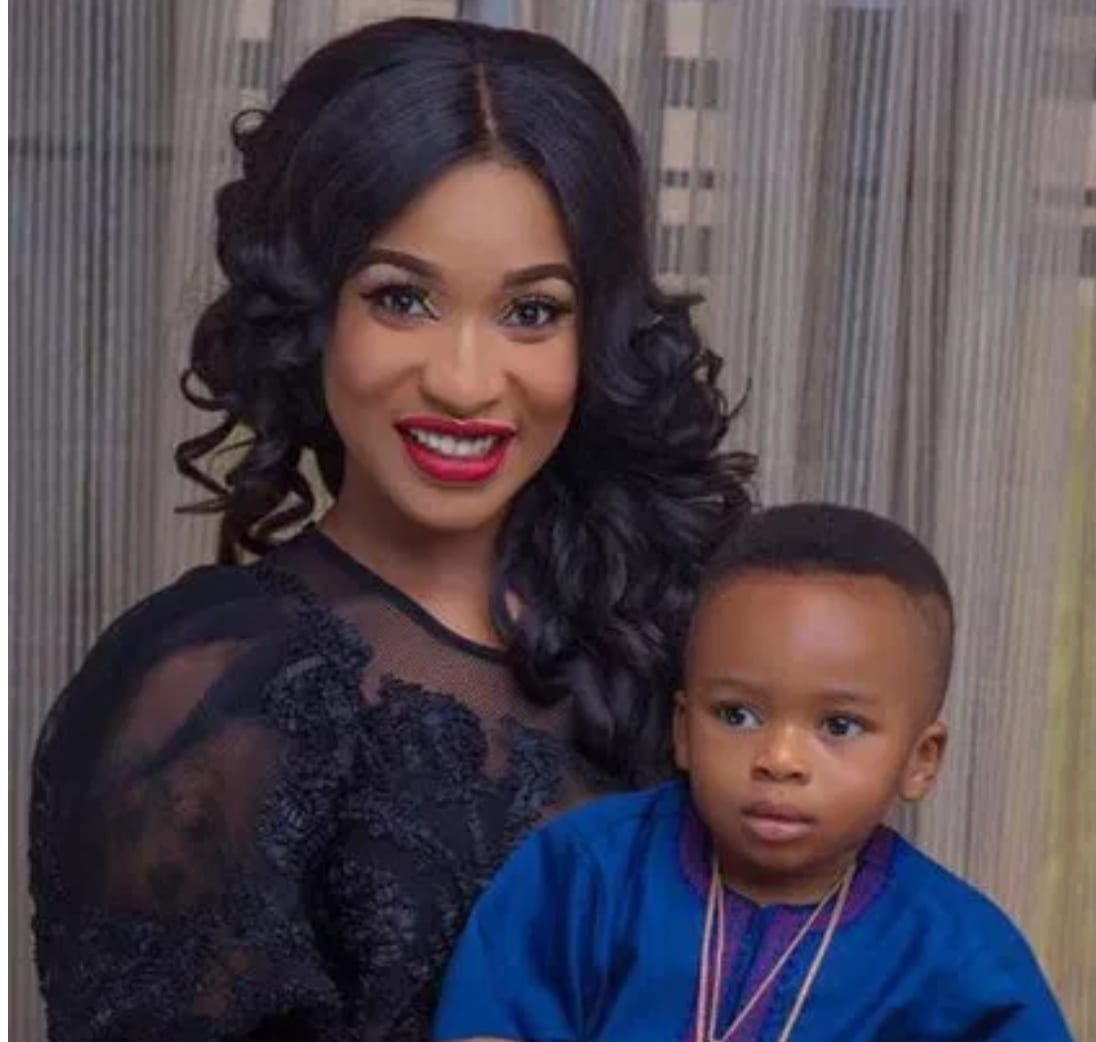 You should see it; Tonto Dikeh writes touching letter to her son
