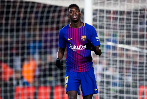 Barcelona F.C unhappy about Ousmane Dembele's love for fast food diets