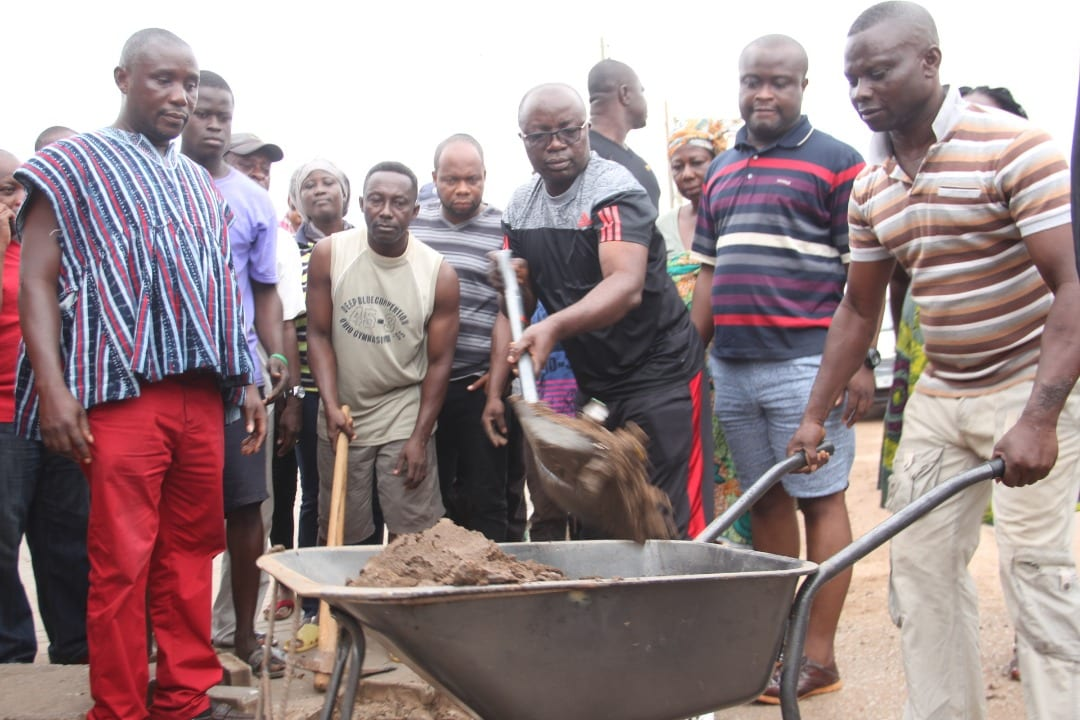 Kumasi Mayor leads in clean-up exercise ahead of Ghana's 61st Independence celebration