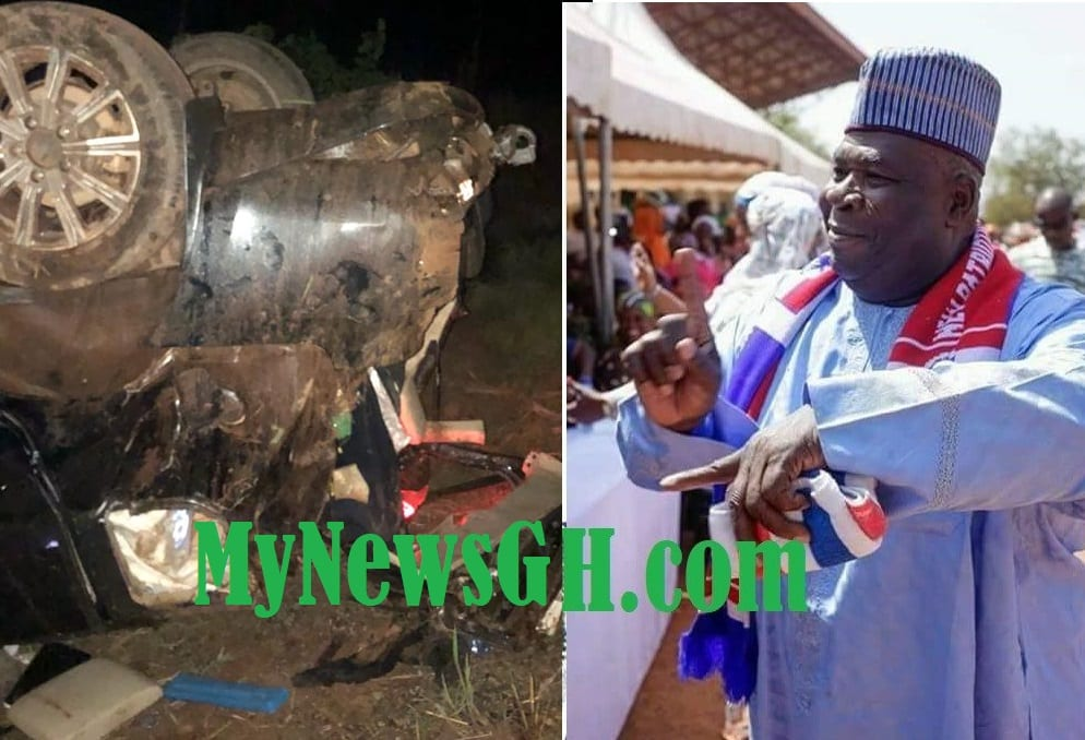 PICTURES: Injured Bugri Naabu to be stabilized and airlifted to Accra