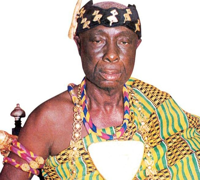 Life Story of the man who touched many lives;Omanhene of Drobo Traditional Area