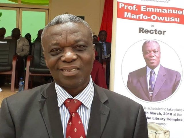 AUDIO: I was 'rich' before my appointment at Wa Polytechnic- Embattled Rector