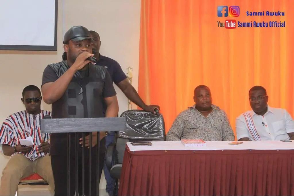 "Sammi Awuku is a classic representation of excellent organisation""– Praye"