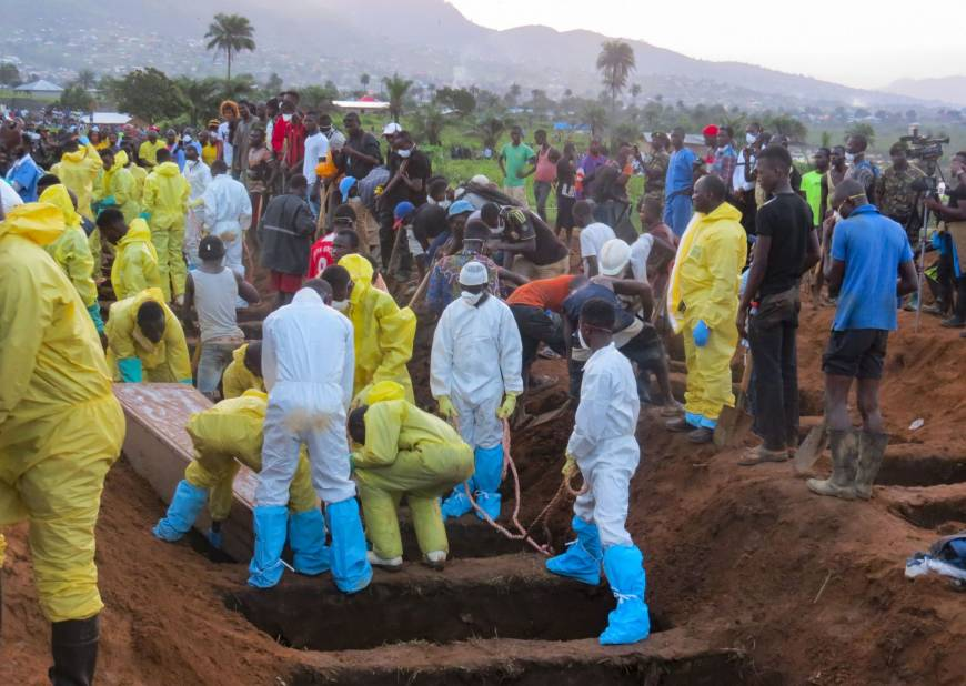Mass burial for 120 unknown and unclaimed bodies at Police Hospital