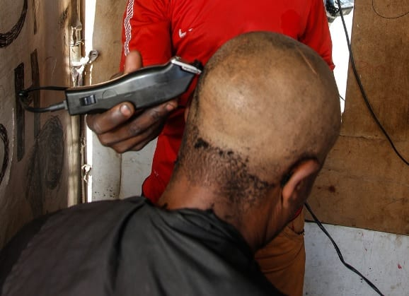 40% of clippers at township barbers contaminated with blood: study