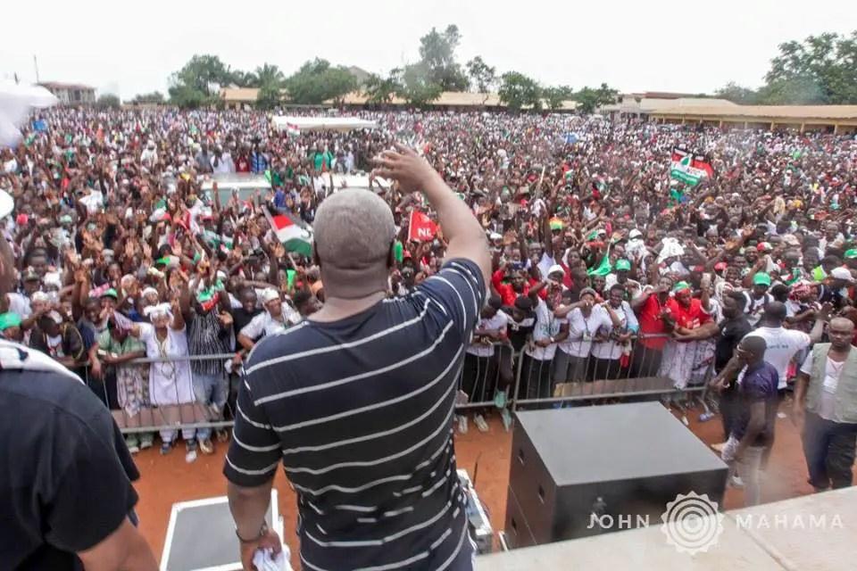 Crowd at NDC's Unity walk wasn't rented –Yamin responds to critics