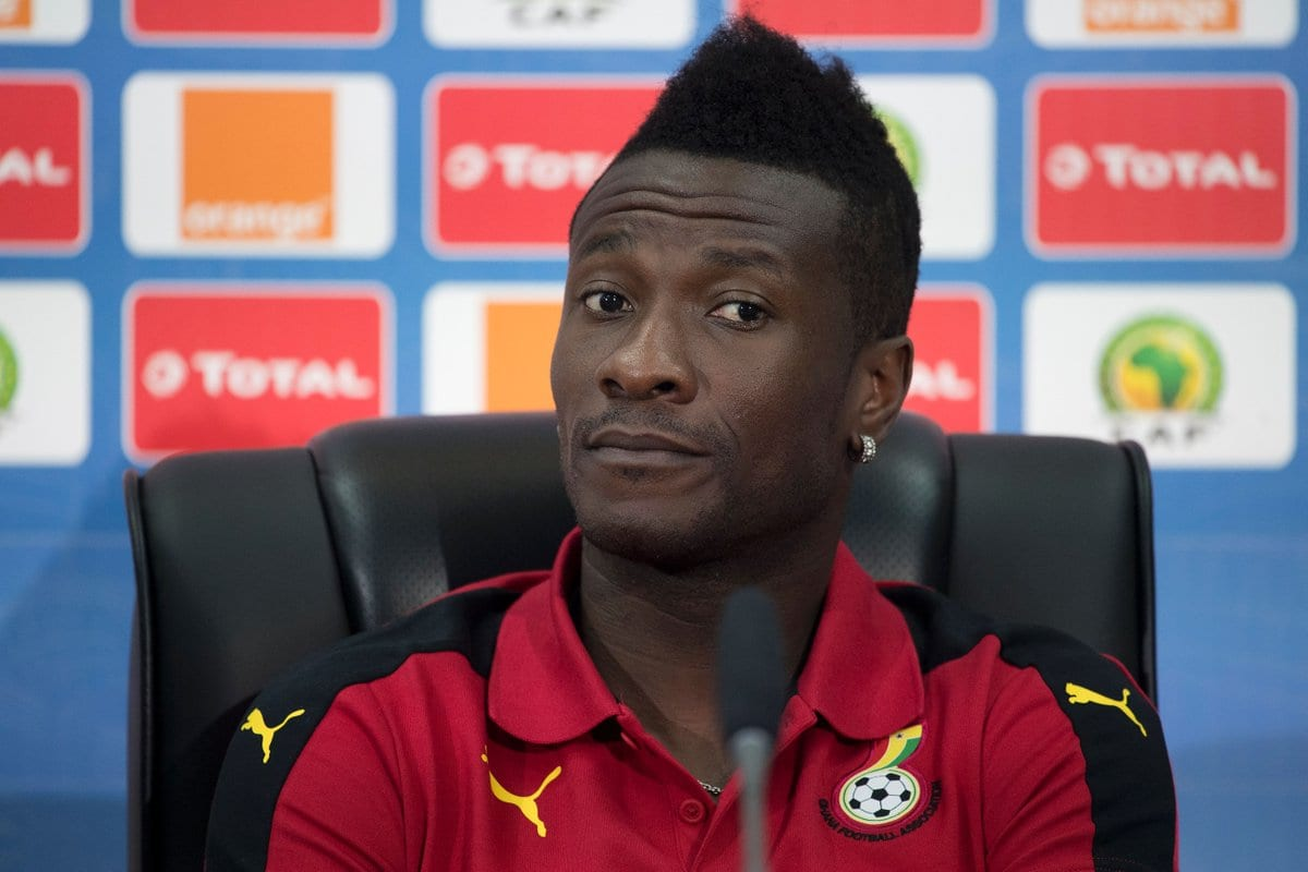 Number 12: Asamoah Gyan not happy with Anas' works-GFA Official drops a hint