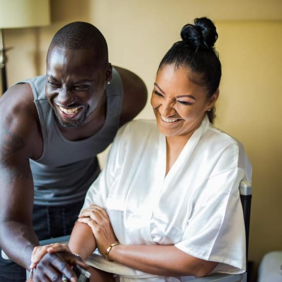 Image result for chris attoh and wife