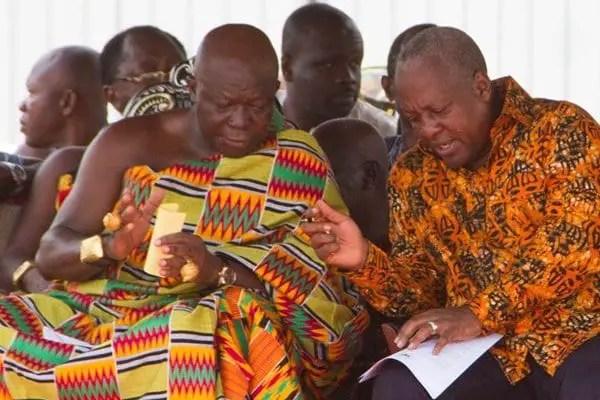 Mahama and Otumfuo