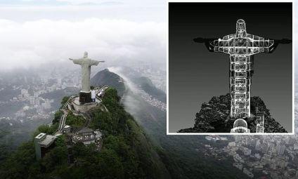 Stunning 3D scans show the internal design of the Christ the Redeemer statue  — My News Journal