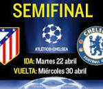 Result match semi final 1st leg ucl, Chelsea vs atletico madrid 23.04.2014