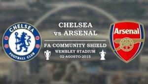 arsenla vs chelsea, chelsea vs arsenal community shield 2015,
