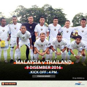 malaysia vs thailand orang pekak