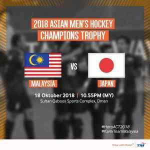 MALAYSIA VS JAPAN, HOKI